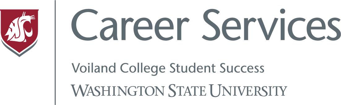 WSU Voiland College Internships & Career Services Office Banner