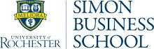 University of Rochester - Simon Graduate School of Business Logo
