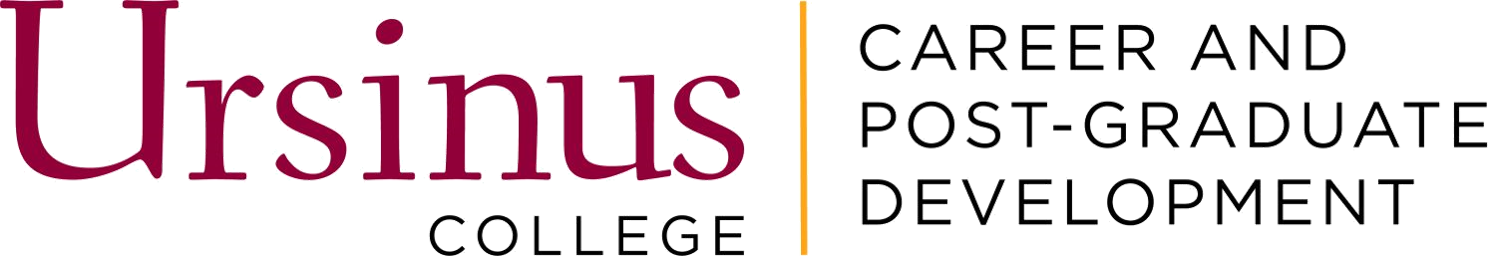 Ursinus College Career Services Banner