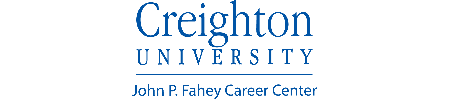 Creighton University Banner