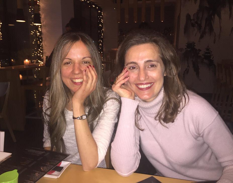 Priscilla and Evanthia