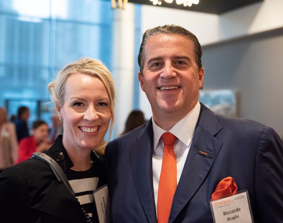 Kimberly Irvine and Riccardo Braglia