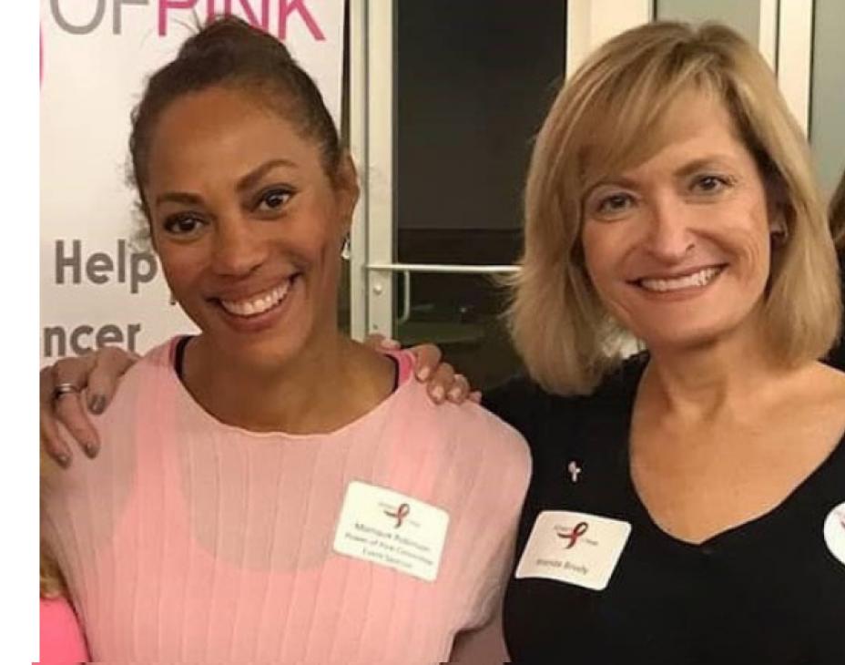 Monique Robinson and Brenda Brody