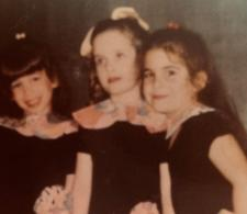 Sherri and Brenda as children in ballet and dance class.