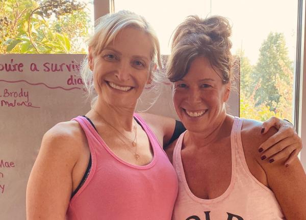 Brenda Brody and Sherri Malone