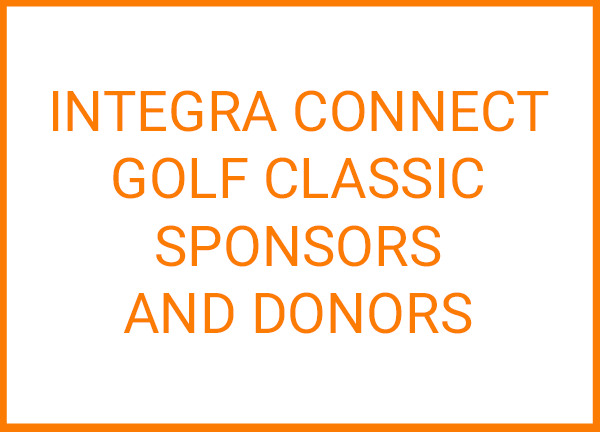 Integra Connect Golf Classic Sponsors and Donors