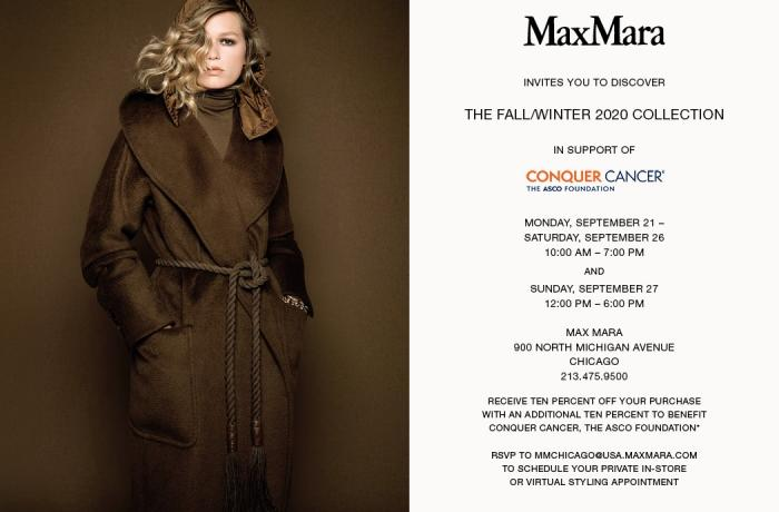 MaxMara Conquer Cancer
