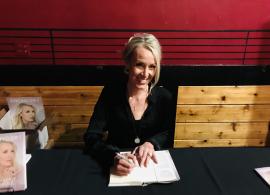 Kimberly Irvine Signing