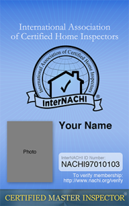 Certified Master Inspector® photo I.D. card