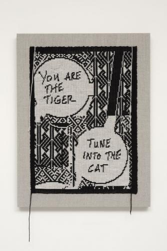 Lisa Anne Auerbach, Tune into the cat (Negative), 2014