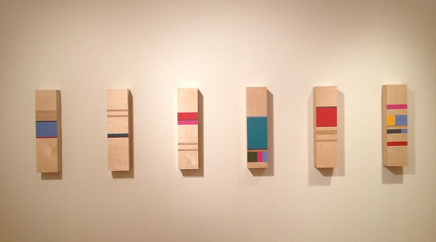 """Kate Carr - installation """"Straight Lines in Five Directions"""" at GSAA 2013"""