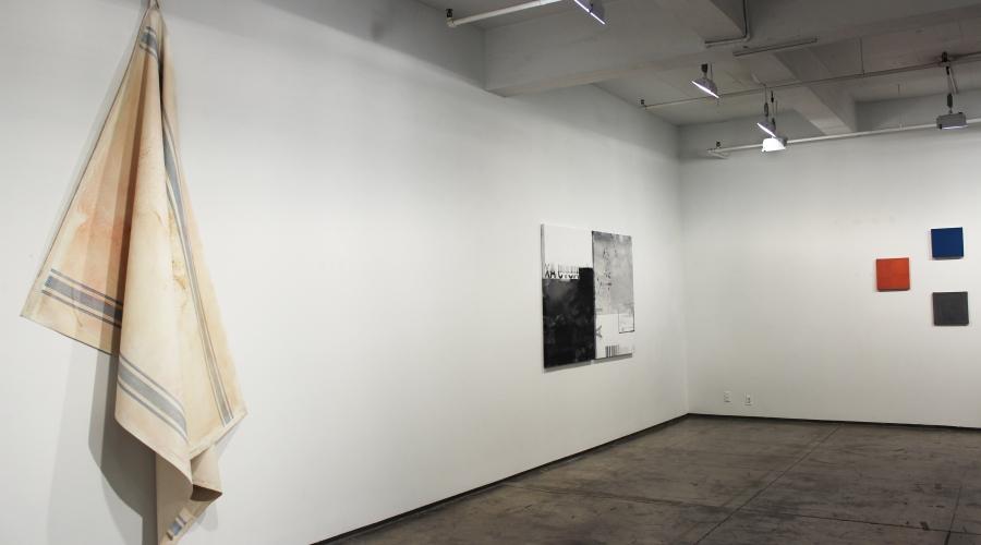 Installation view, (from left) Elena del Rivero, Ana Bidart, Sérgio Sister