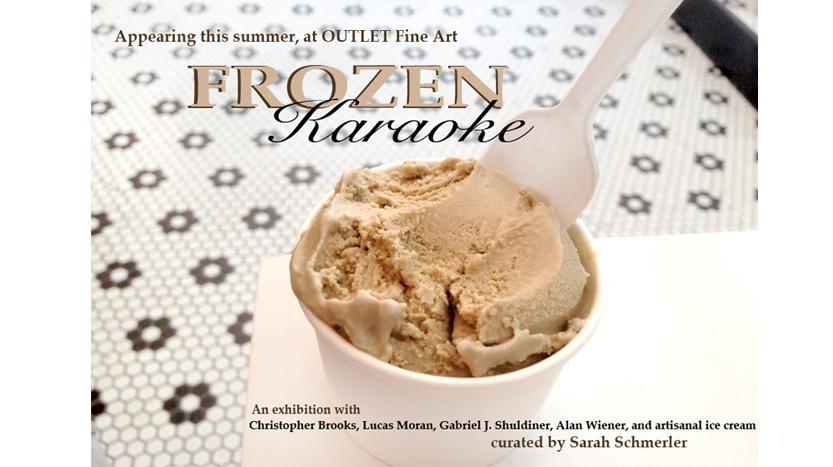 Frozen Karaoke: an exhibition by guest curator Sarah Schmerler, Jul 10-Aug 17