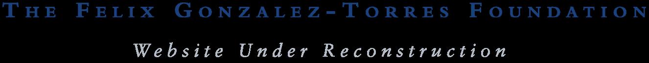 Felix Gonzalez-Torres Foundation