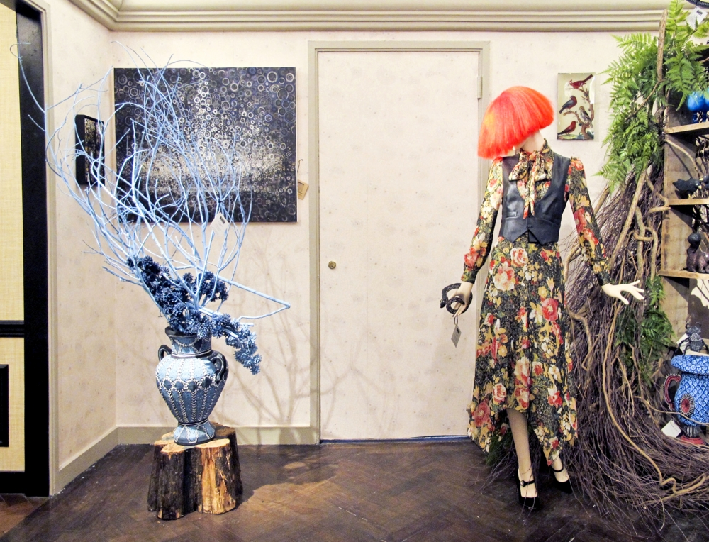 """Randall Stoltzfus: A Collaboration with Bergdorf Goodman """"The Enchanted Forest"""""""