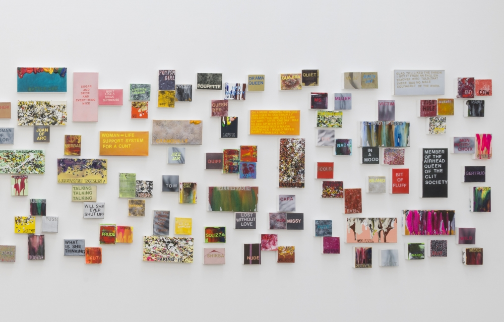 Review: How would you describe women? Betty Tompkins asked, then painted 1,000 answers
