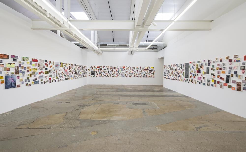 Girl talk: Betty Tompkins unveils 1,000 text-based paintings at Gavlak LA