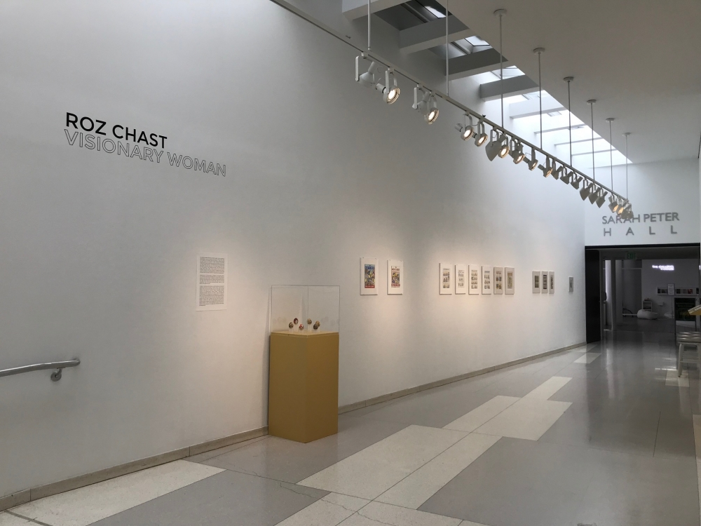 Roz Chast at Moore College of Art and Design, Graham Gallery