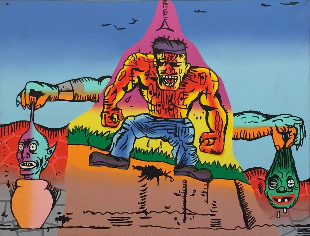 Gary Panter, Best in Show at Frieze in Artillery Magazine