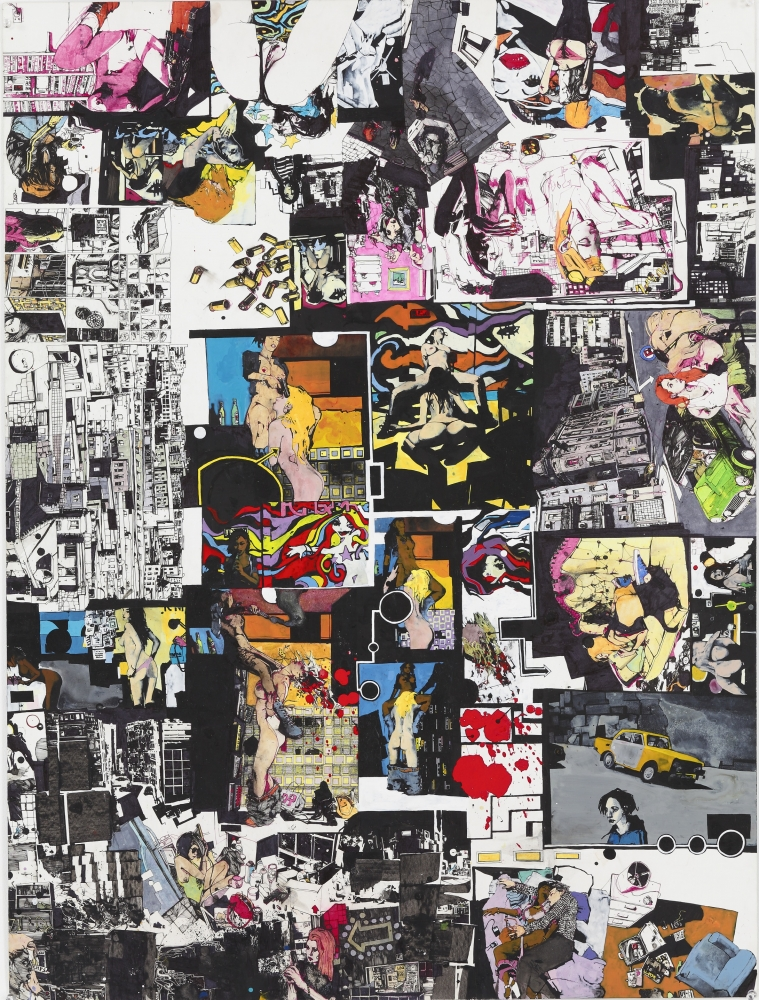"""Zak Smith, """"Shred,"""" at Richard Heller Gallery in L.A. Times"""