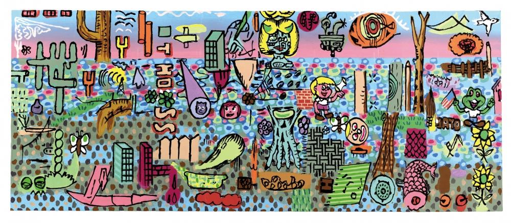 Gary Panter at Frieze New York in ArtInfo
