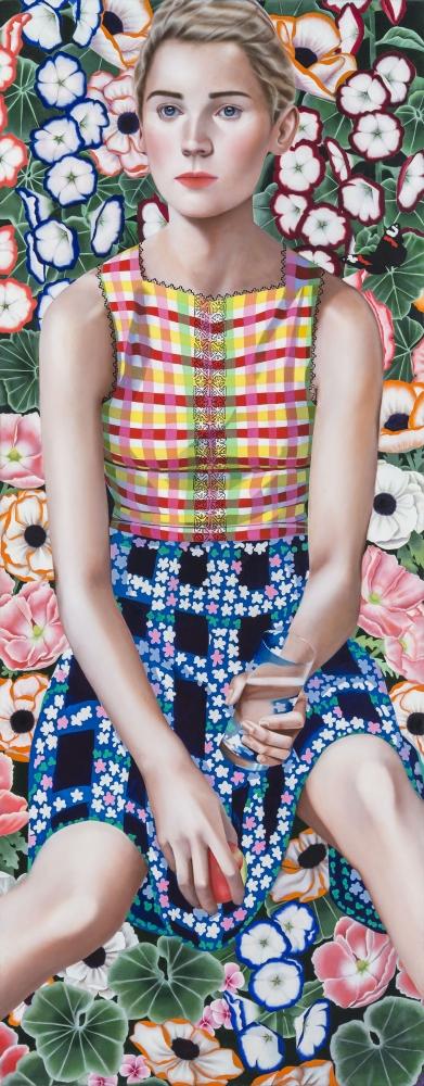 Jocelyn Hobbie: New Paintings Reviewed in Artsy