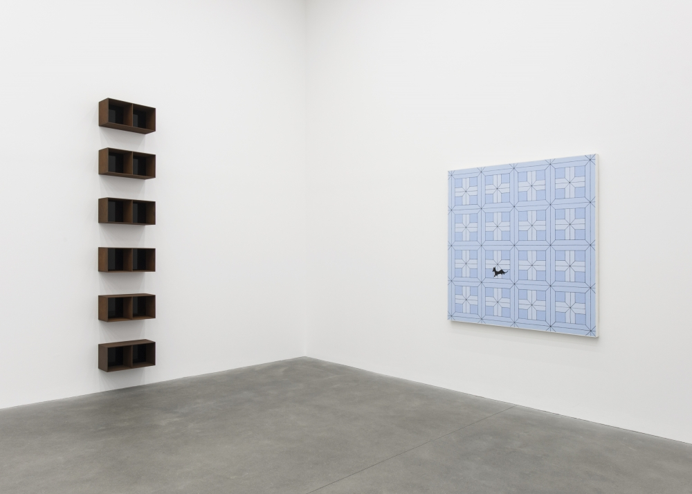 """""""An Unlikely Friendship: John Wesley in Conversation with Donald Judd"""" at Alison Jacques Gallery, London"""