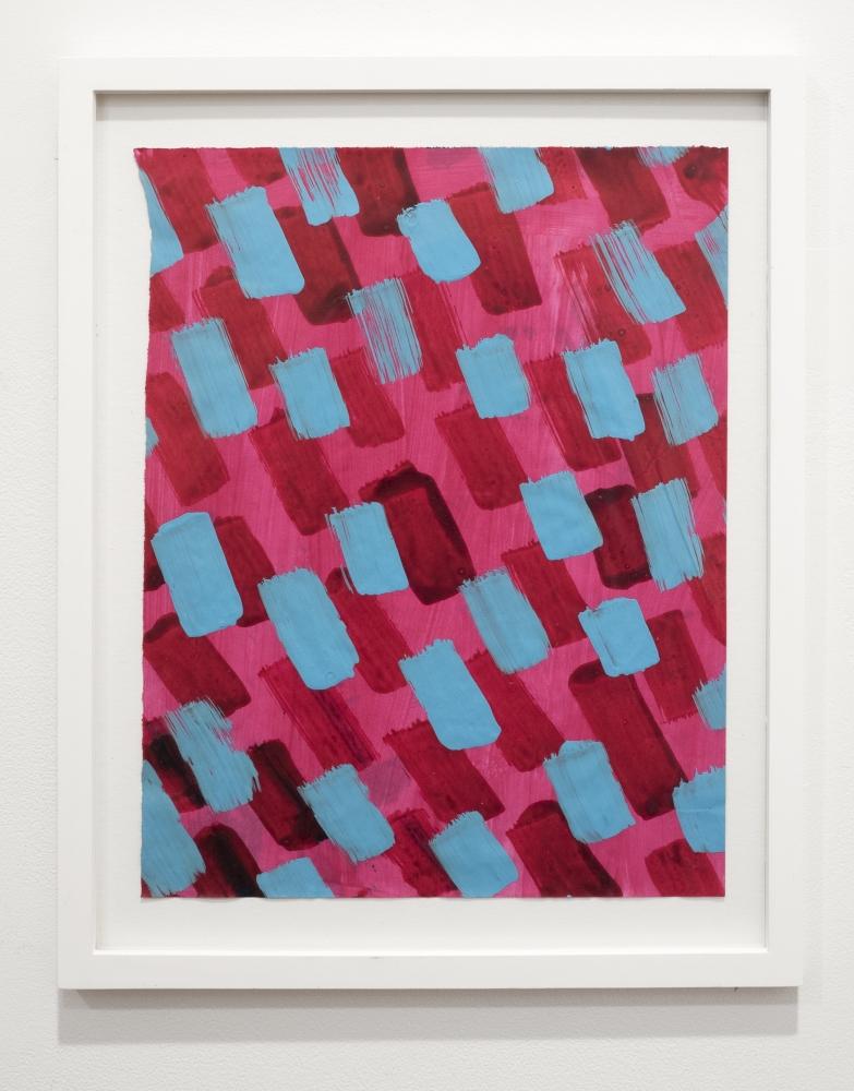 Rachael Gorchov Untitled acrylic on paper