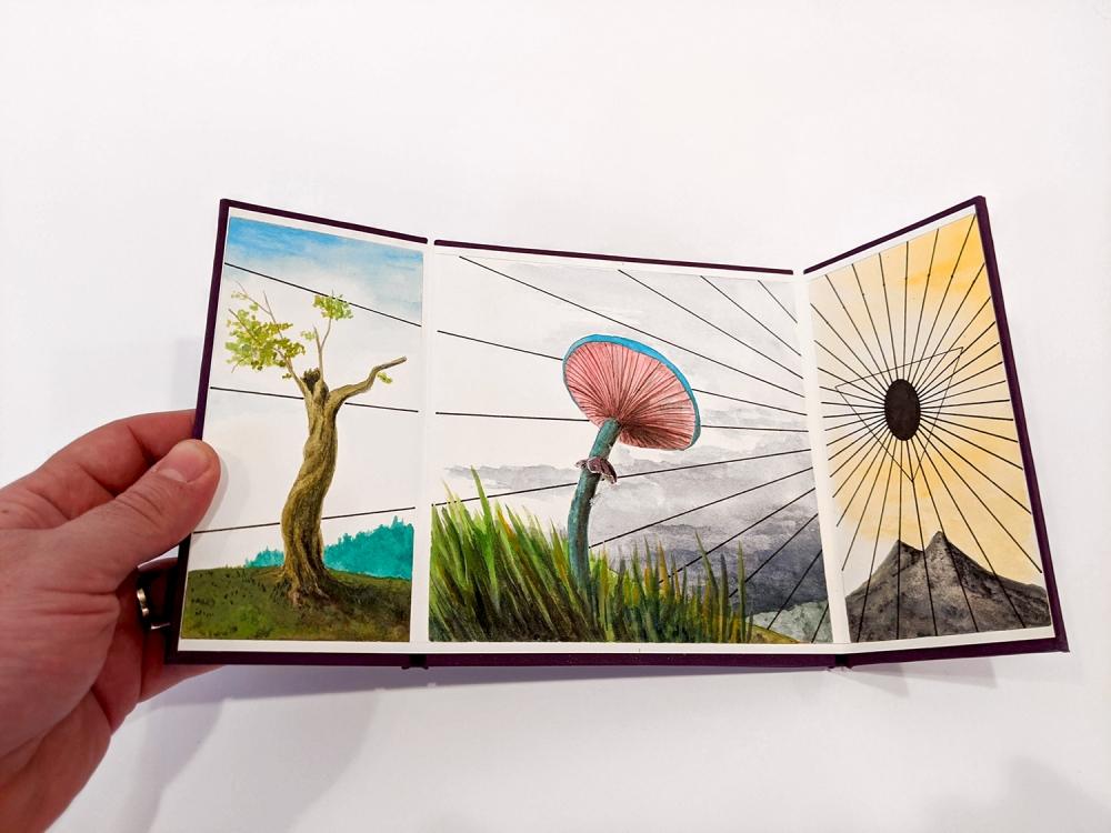 Jonathan Cowan artist book