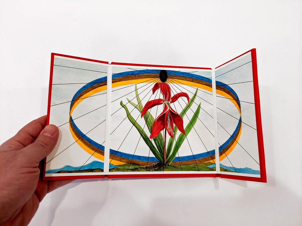 Jonathan Cowan Radiant Void artist book