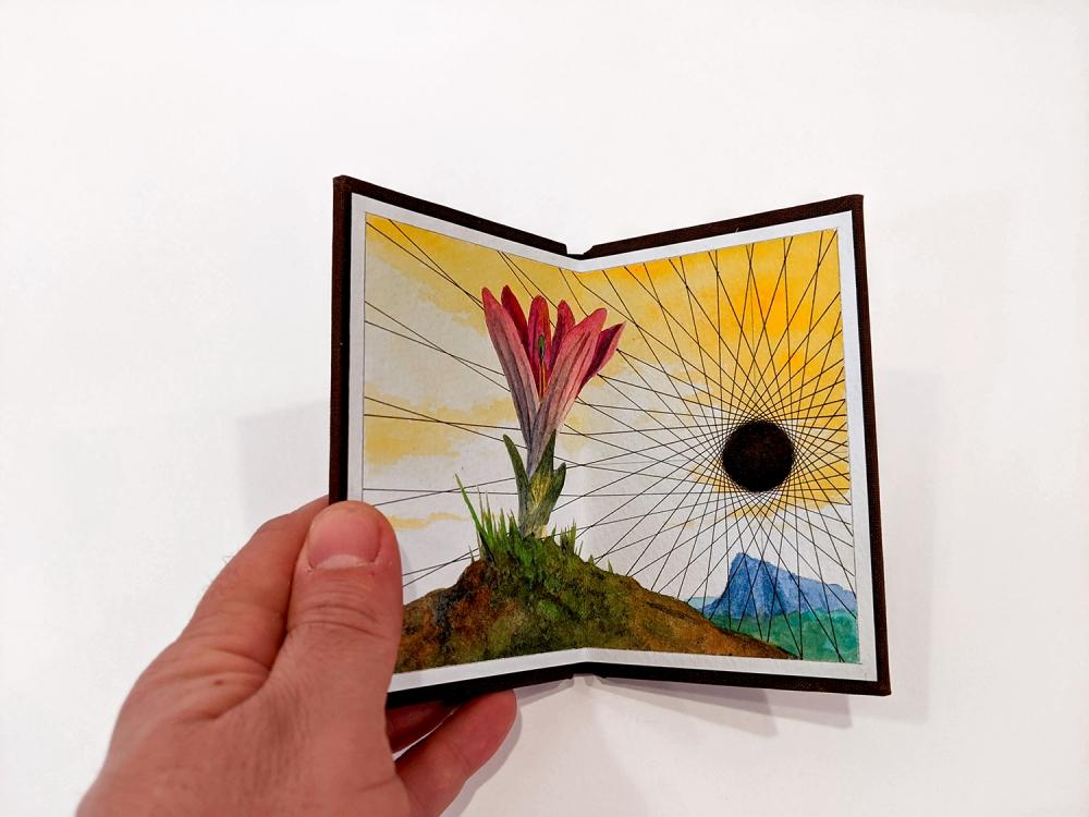 Jonathan Cowan Radiant Void artist's book