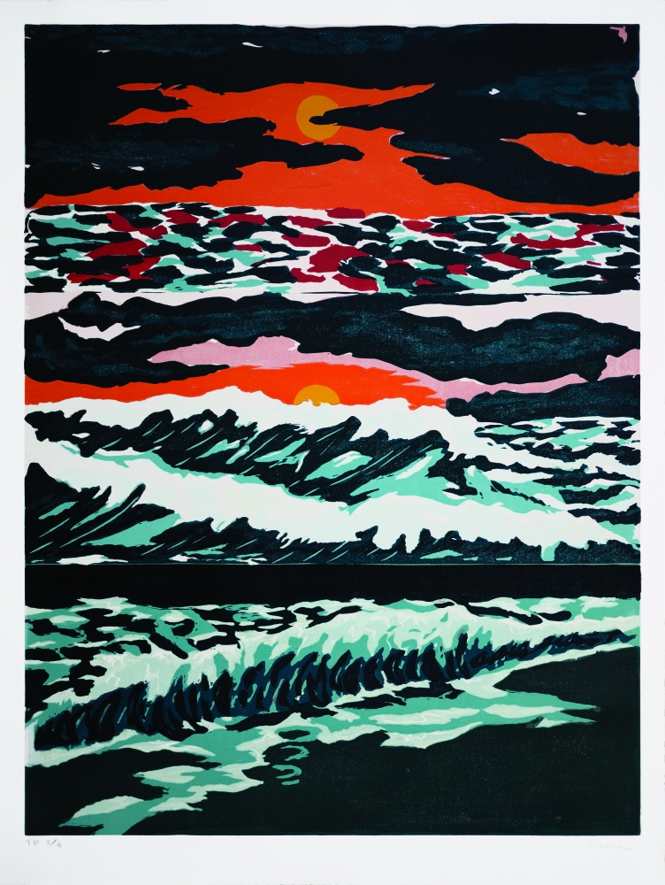 richard bosman tropical sunset print