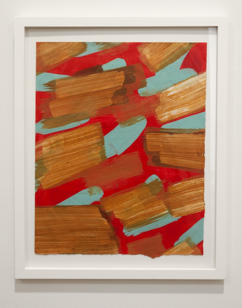 Gorchov untitled paint on paper