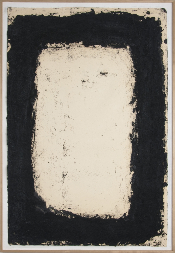 "Richard Serra_Foot Cape III, 1994 (60"" x 42"") Frame-Casterline
