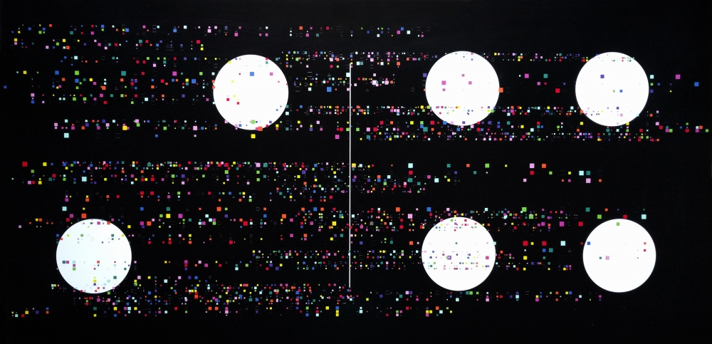 Former Hedge Fund Manager, Artist & Math Ph.D. Nelson Saiers Puts His Trading Algorithm on Display