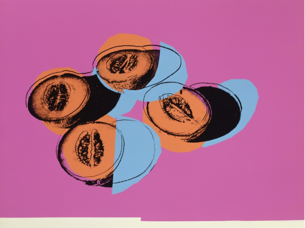 In Bottom of my Garden by Andy Warhol