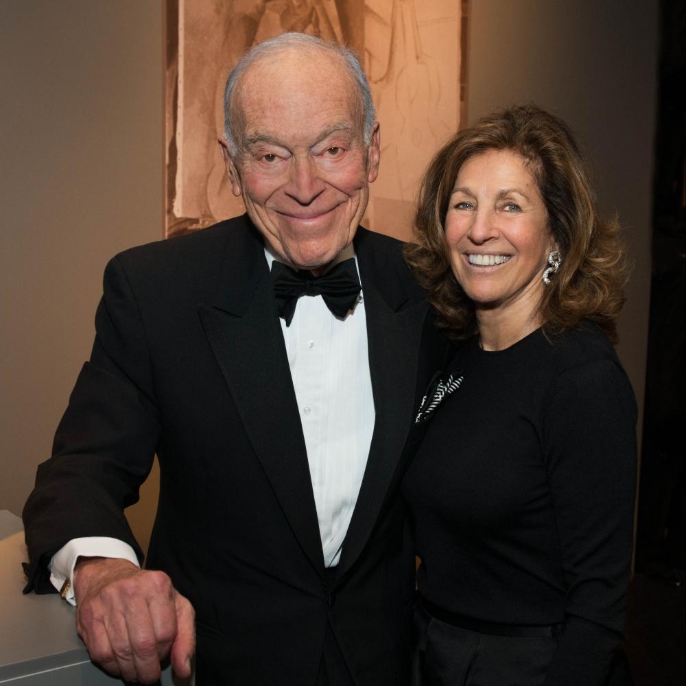 Leonard A. Lauder and Judy Glickman Lauder