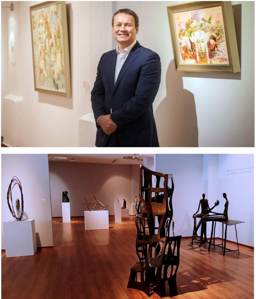 Spotlight On Chris Churcher of REDSEA Gallery
