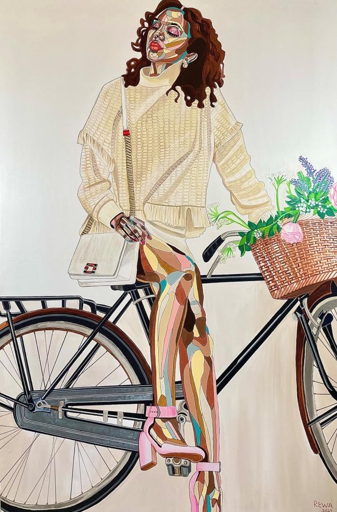 Inside Donna Karan's New Art Exhibition, a Celebration of Identity: featuring JFG artists REWA and Adrienne Brown David