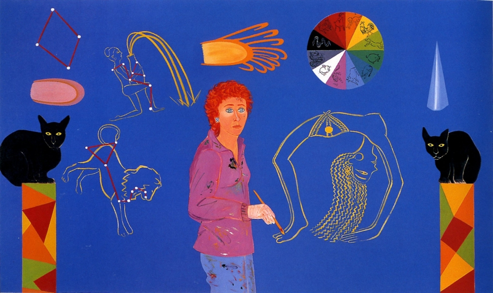 Joan Brown, 'Year of the Tiger' 1983.