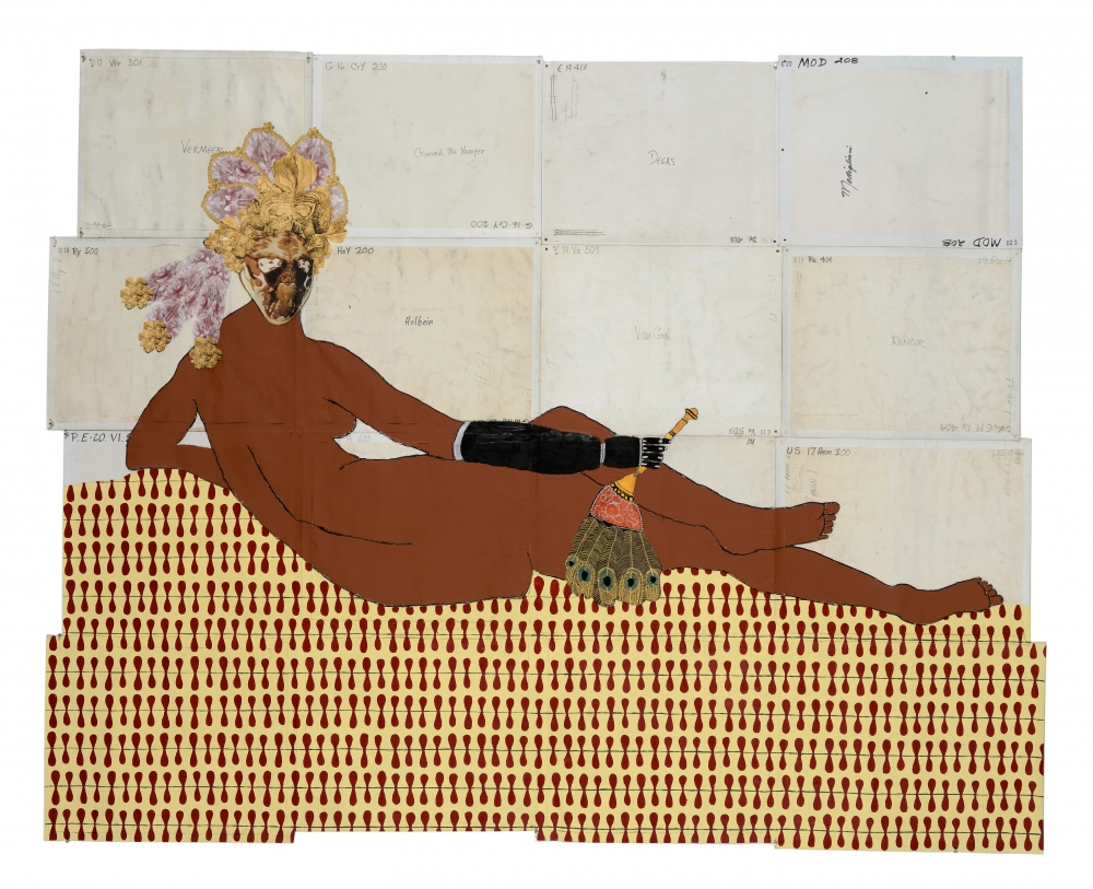 Katherine Sherwood, 'After Ingres,' 2014.