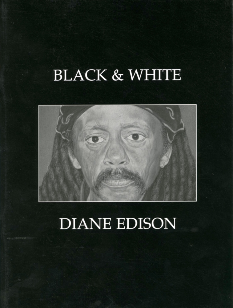 Catalog cover, 'Diane Edison: Black and White,' Greenville County Museum of Art, 2007.
