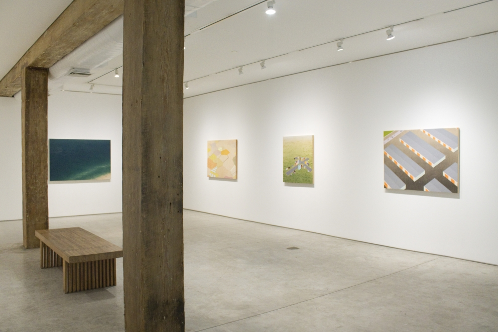 Installation view, Chris Ballantyne, 'Temporal: Recent Paintings and Watercolors,' George Adams Gallery, New York, 2019.