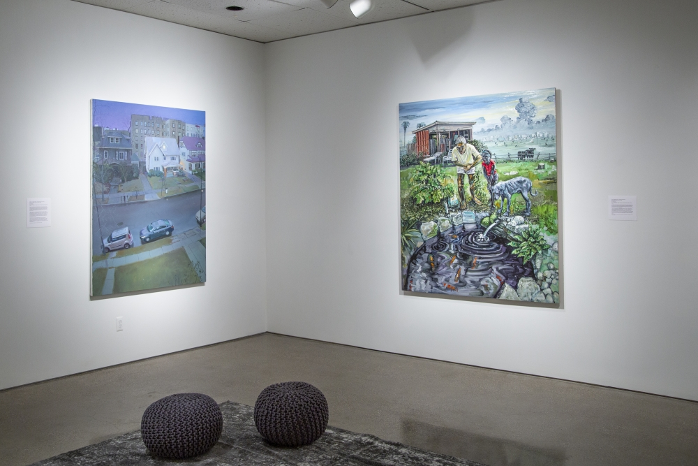 Installation view, 'Your Very Own Paradise,' Oakland University Art Gallery, Rochester, MI, 2019.