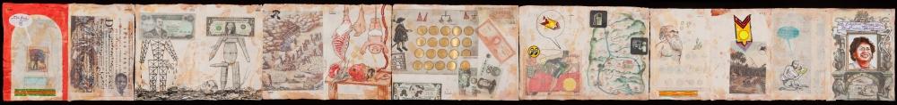 Enrique Chagoya's codices