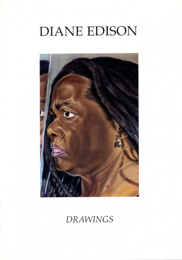 Catalog cover, 'Diane Edison: Drawings,' University of Georgia, 2002.