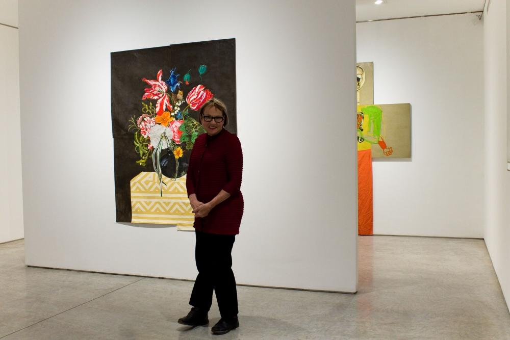 Katherine Sherwood at George Adams Gallery, 2019.