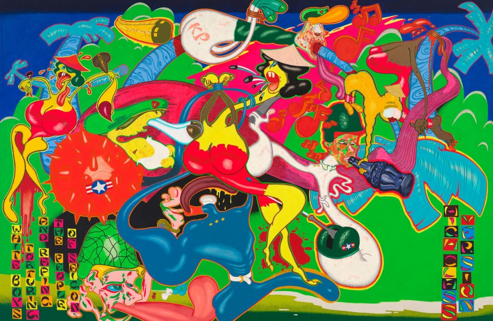 Peter Saul at Schirn Kunsthalle
