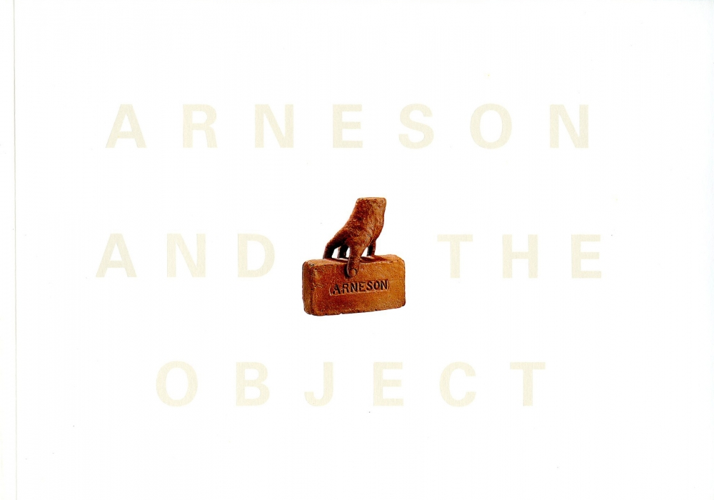 Catalog cover, 'Arneson and the Object,' Penn State University Press, 2004
