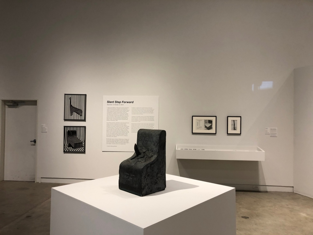 Installation View, Slant Step Forward, Verge Center for the Arts 2019